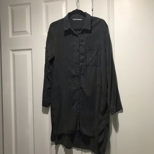 Zara Lightweight Denim Shirt
